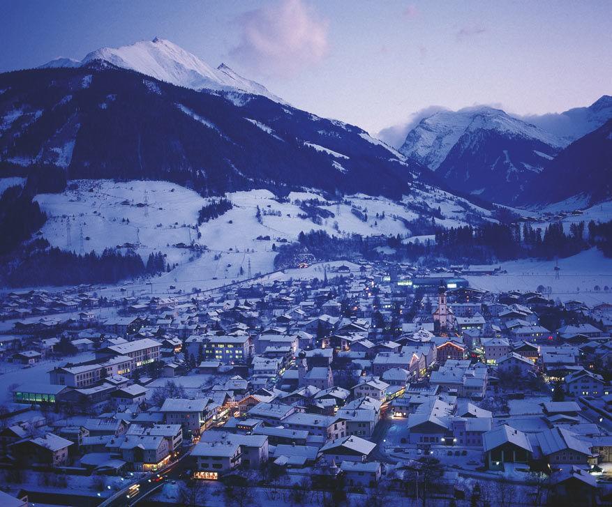 Als de avond valt over het dal, draait de après-ski op volle toeren!