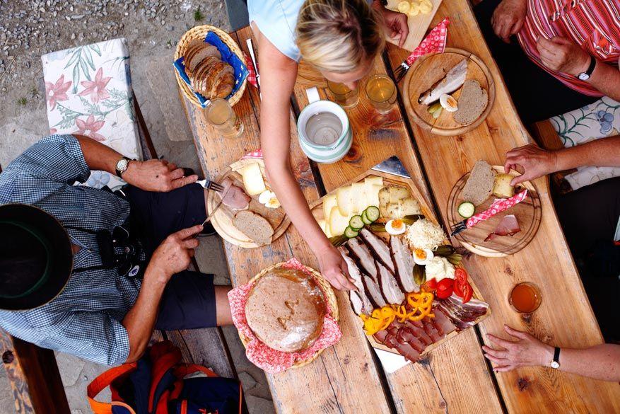 Lokale gerechten zijn een topper in Salzburgerland!