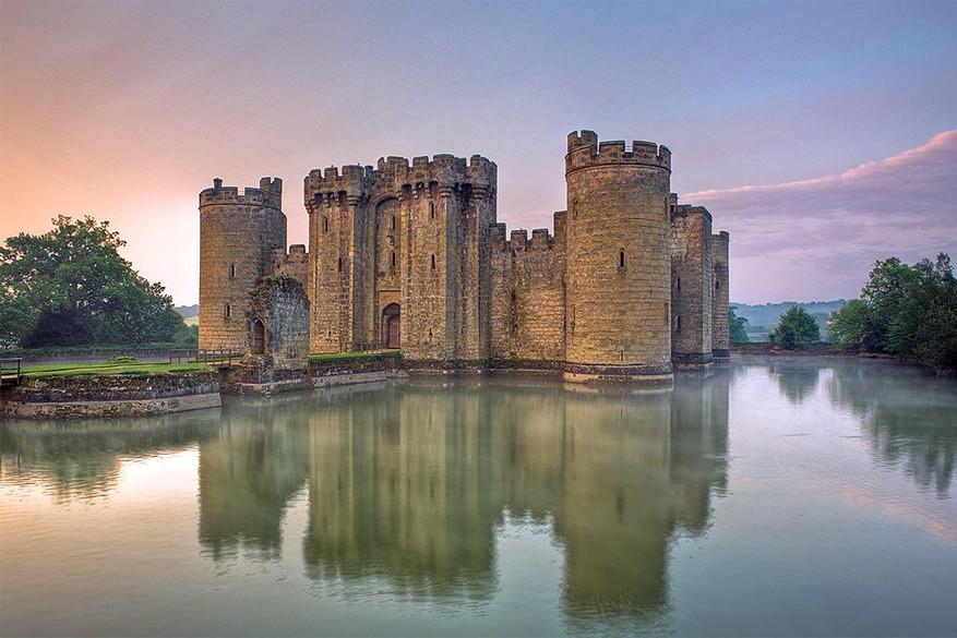 Bodiam Castle © Wikimedia Commons