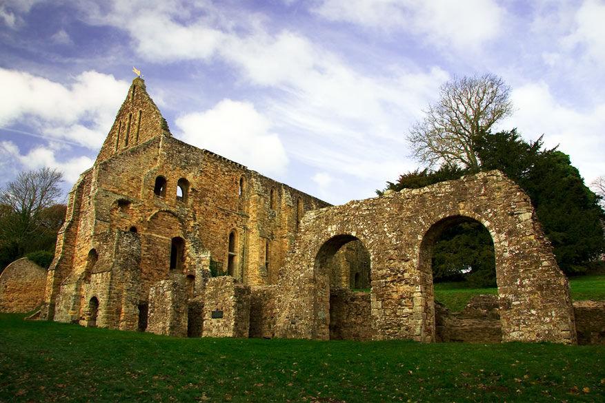 De abdij van Battle © Ben Jeffrey via Flickr Creative Commons