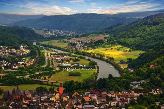 Verken actief de vallei van de Saar