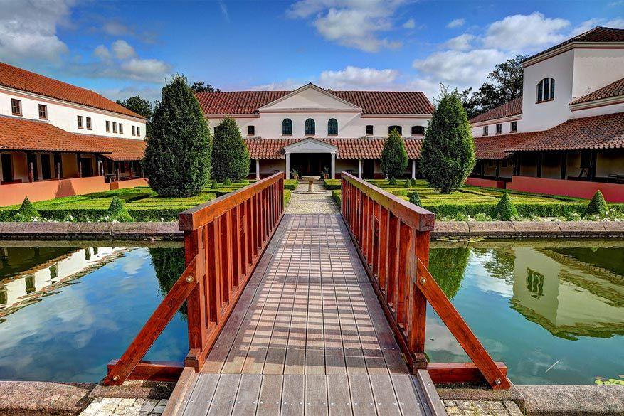 Saarburg: de Romeinse villa in het archeologiepark van Borg
