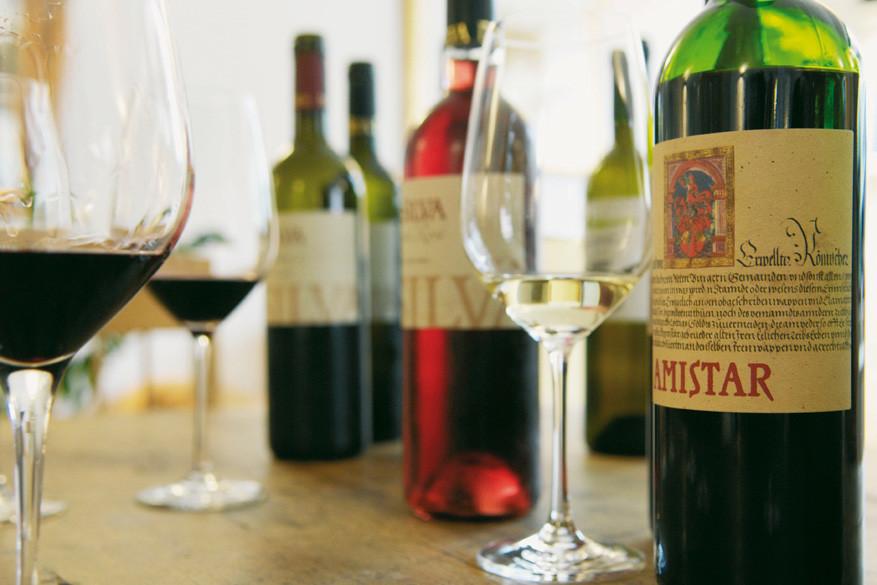 Maak kennis met verschillende wijnen die je ook mee naar huis kunt nemen