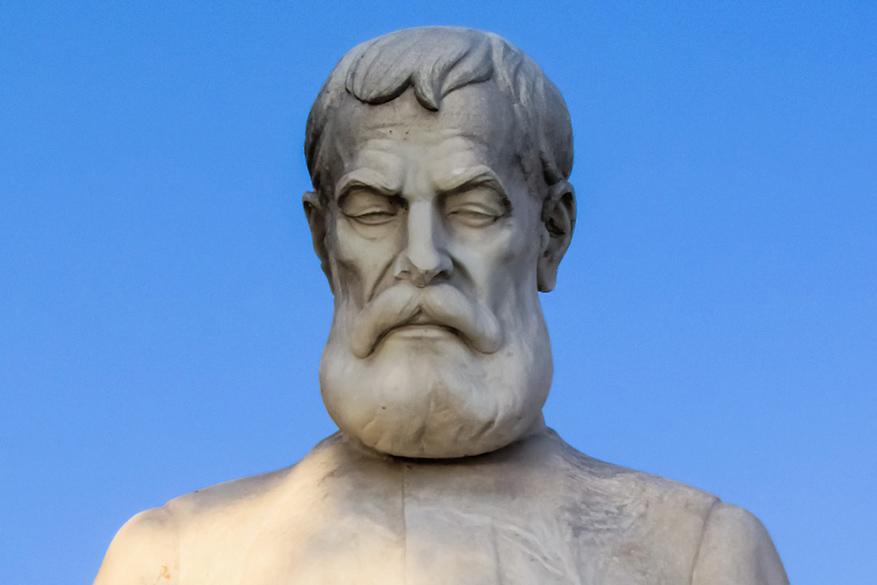 Alexandros Papadiamantis heeft zijn naam gemaakt in de Griekse literatuurgeschiedenis