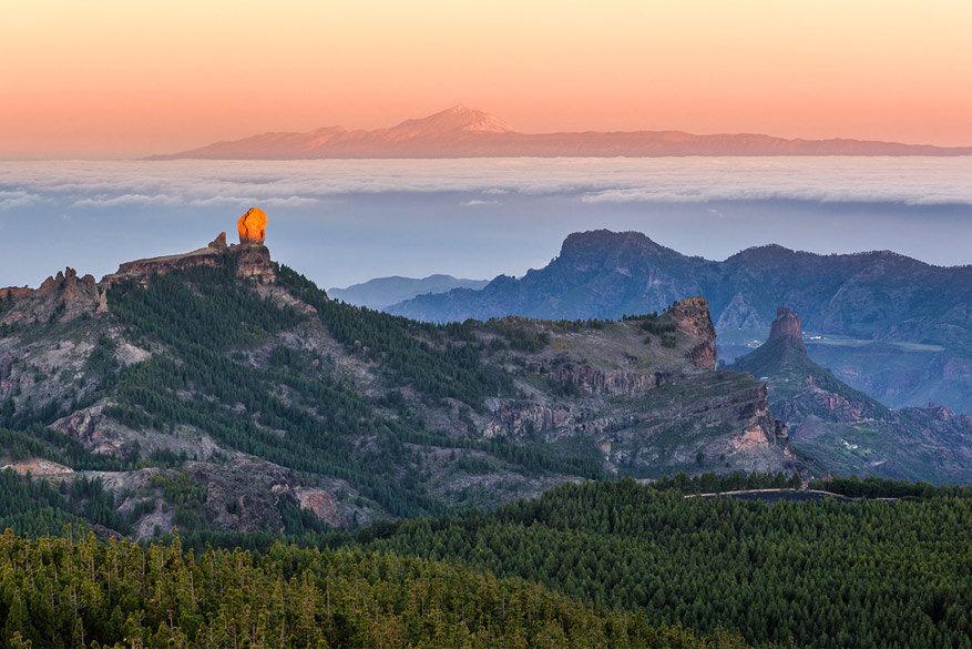 Roque Nublo op Gran Canaria. © Moritz Wicklein