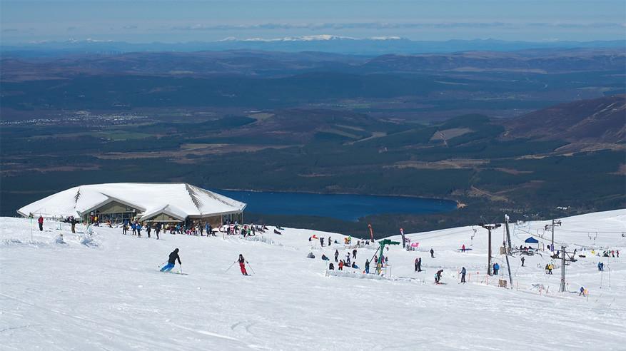 Skigebied Cairngorm Mountain. © Ski Schotland