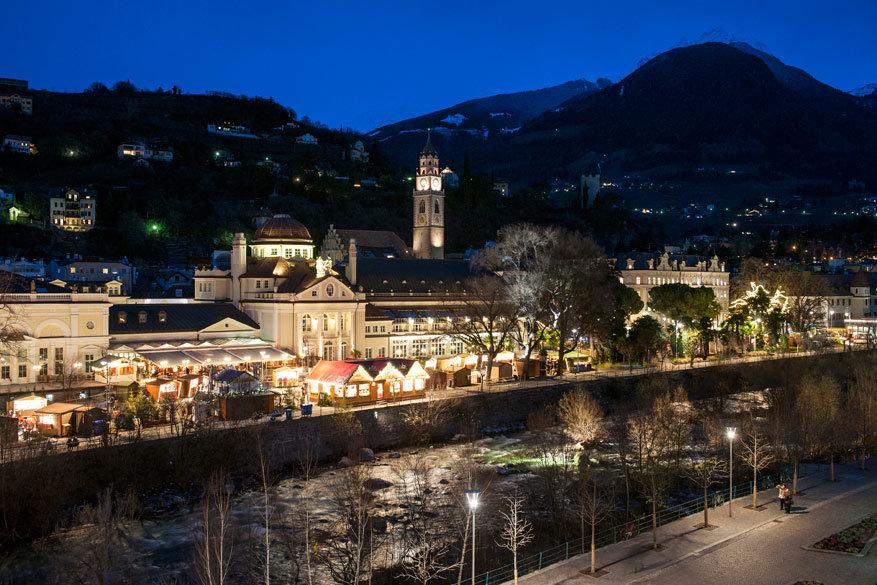 Ook 's avonds valt er in Merano heel wat te beleven. © IDM Südtirol/Alex Filz avond