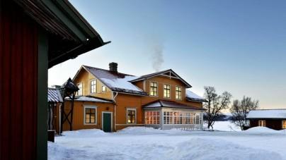 Bijzonder overnachten in Zwedens oudste berghotel
