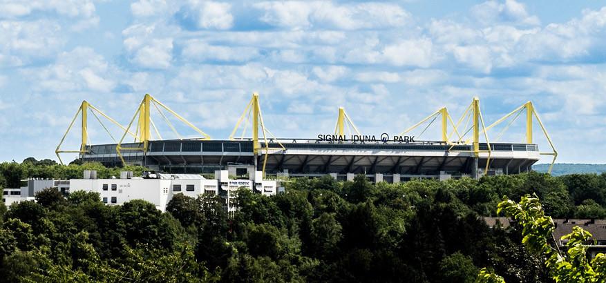 Bekendste bezienswaardigheid in Dortmund? Het voetbalstadion Signal Iduna Park. © Pixabay