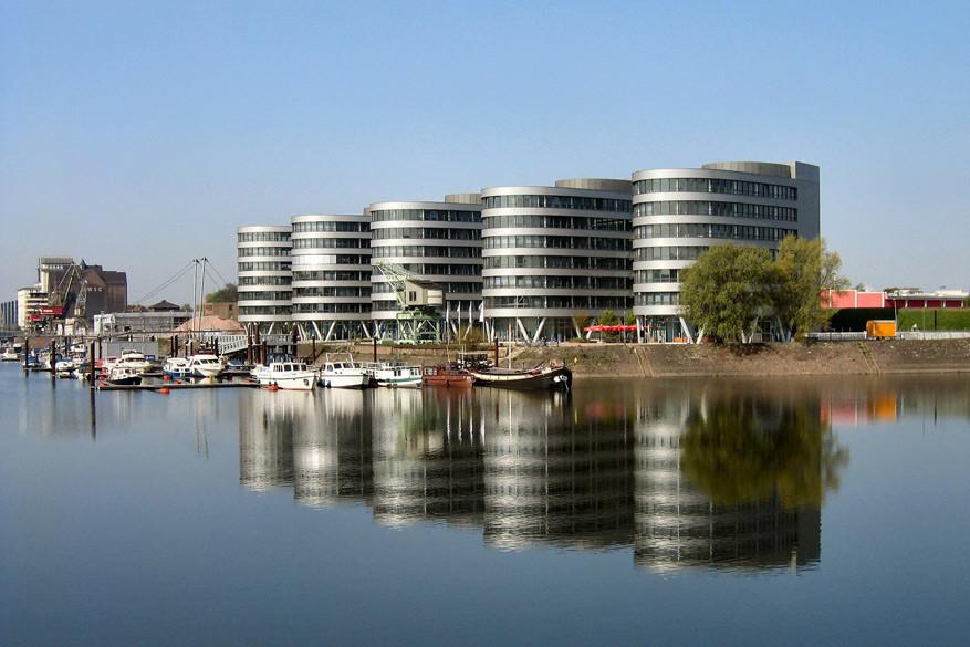 De binnenhaven van Duisburg. © Pixabay