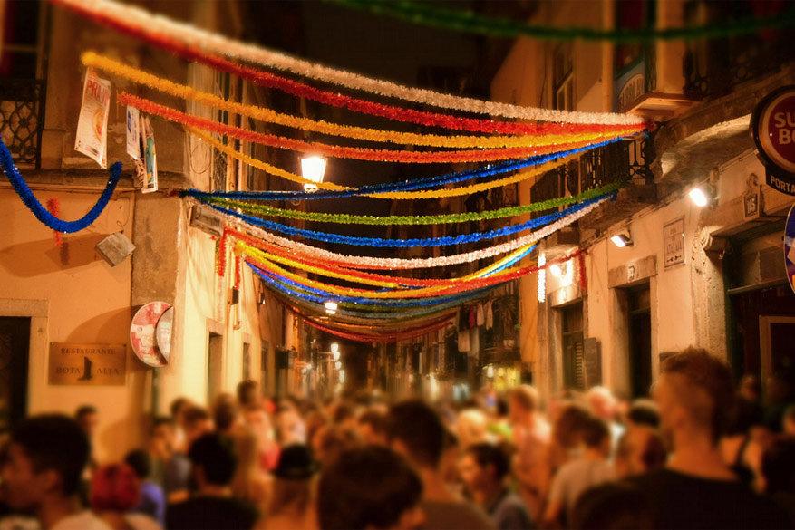 Lissabon: uitgaanswijk Bairro Alto