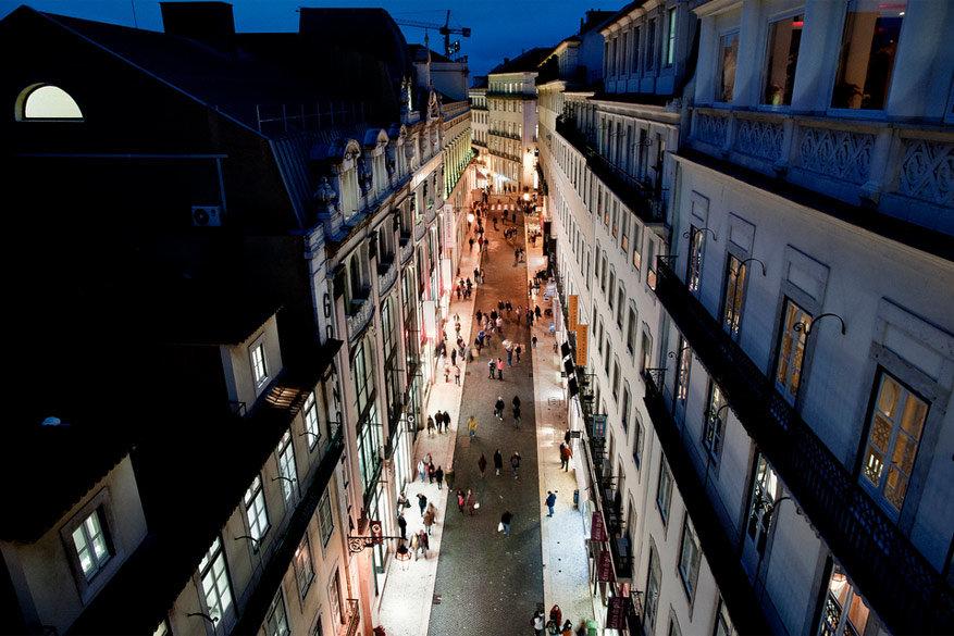Lissabon: nachtleven in Baixa