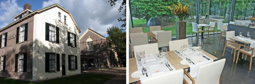 Het is heerlijk tafelen in Bitter en Zoet in Veenhuizen. © Frans Oyen