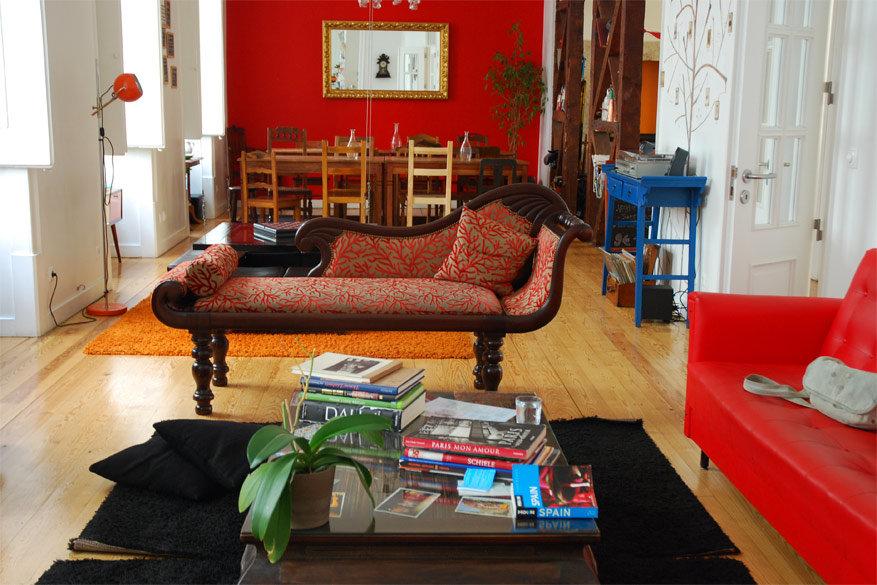 Lissabon: Living Lounge Hostel