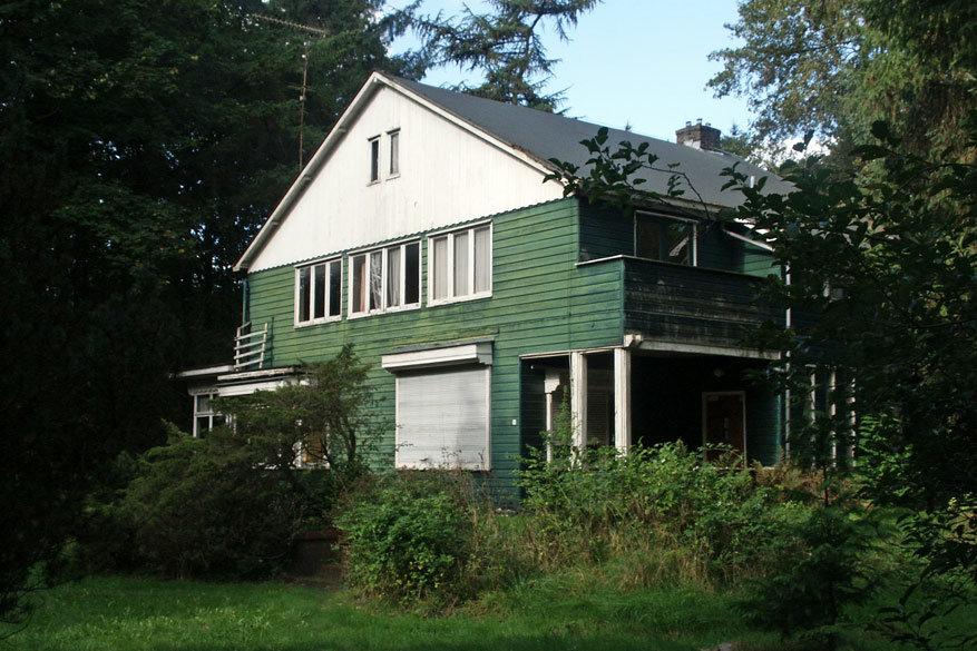 Het huis van de kampcommandant in Westerbrok. © Frans Oyen
