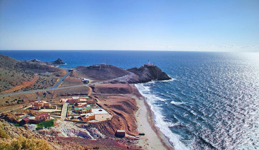 De natuur van Cabo de Gata aan het strand. © Pixabay