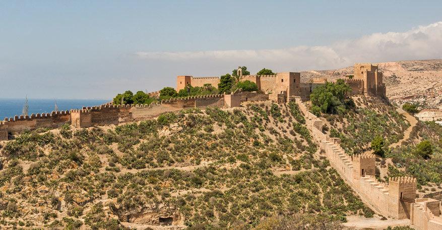 Het Alcazaba van Almeria. © Pixabay