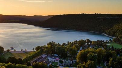 De natuur laat zich van haar mooiste kant zien in de Franse Jura