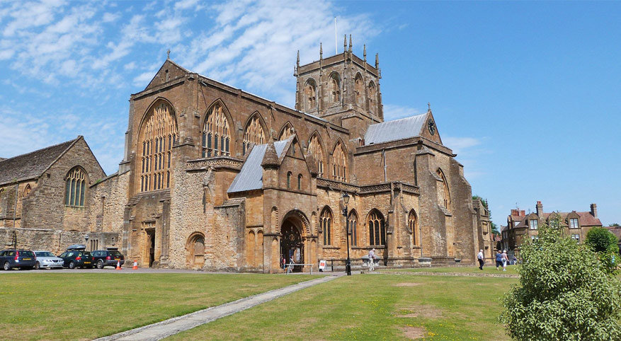 Sherborne Abby © Peter Broster via Flickr Creative Commons