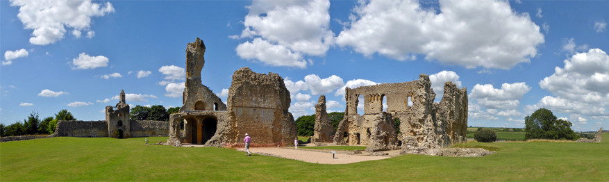 De ruïnes van het oude kasteel van Sherborne. © Roman Hobler via Flickr Creative Commons