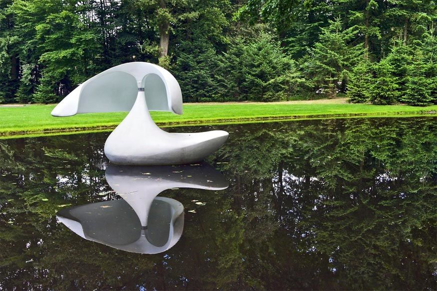 Kunst in het park dankzij het Kröller-Müller Museum © Frank Wassink