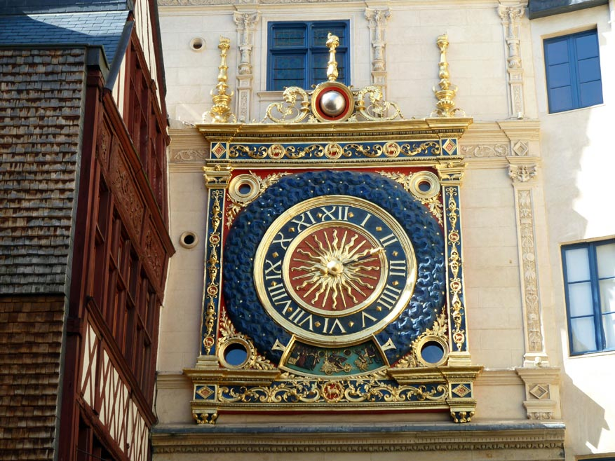 Le Gros Horloge: het symbool van de stad.
