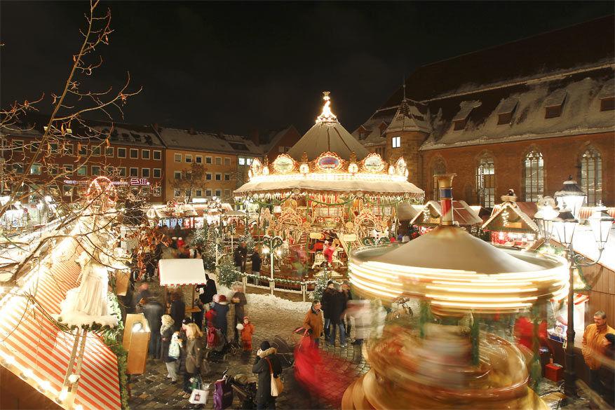 De Christkindlesmarkt in Nürnberg © Congress- & Tourismus-Zentrale Nürnberg (Riese, Steffen Oliver)