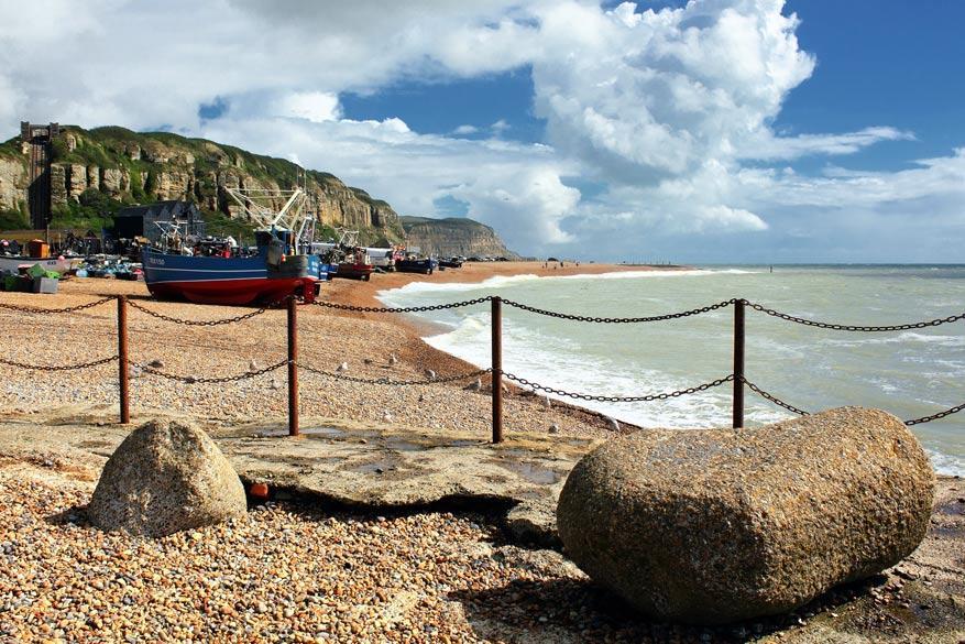 Havenstadje Hastings © Pixabay