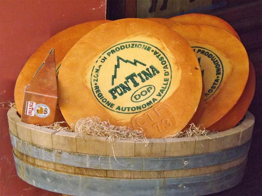 Fortina kaas: de culinaire trots van de Aostavallei. © Wikimedia Commons