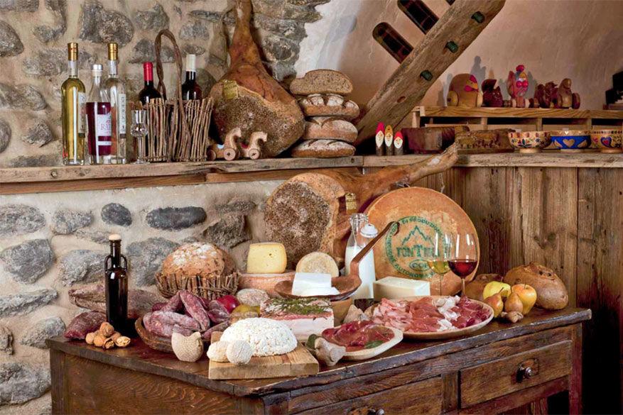 De gastronomie van Valle d'Aosta ziet er gevarieerd en smakelijk uit. © Visit Aosta / Saveurs du Valle d'Aosta