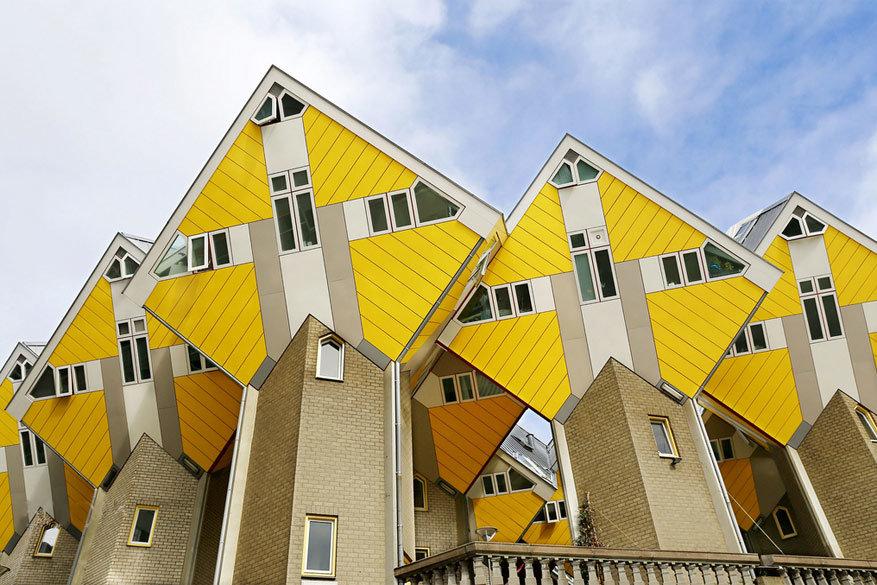 De impressionante kubuswoningen. © Murat GENCER
