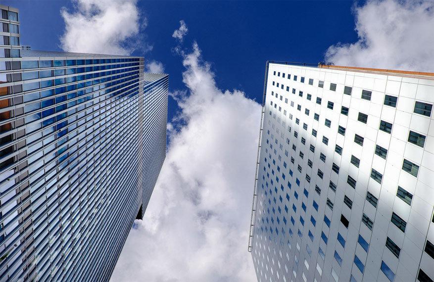In Rotterdam tel je de wolkenkrabbers niet op twee handen. © Alex S