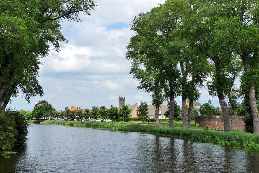 Het is heerlijk wandelen in Sluis © SouthEastern Star