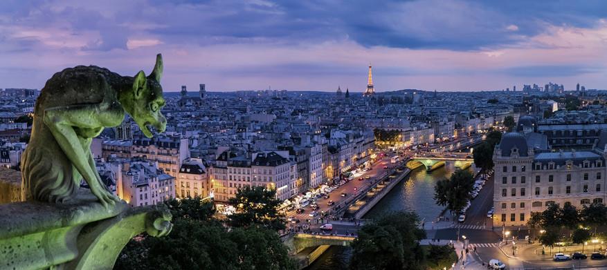 Parijs laat zich dankzij de huurfietsen makkelijk ontdekken. © Pixabay