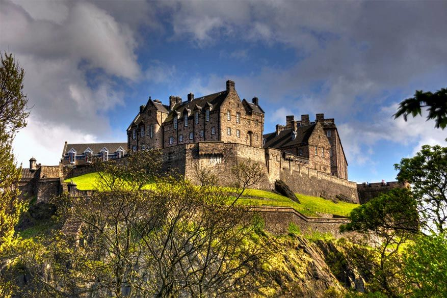 Het Edinburgh Castle