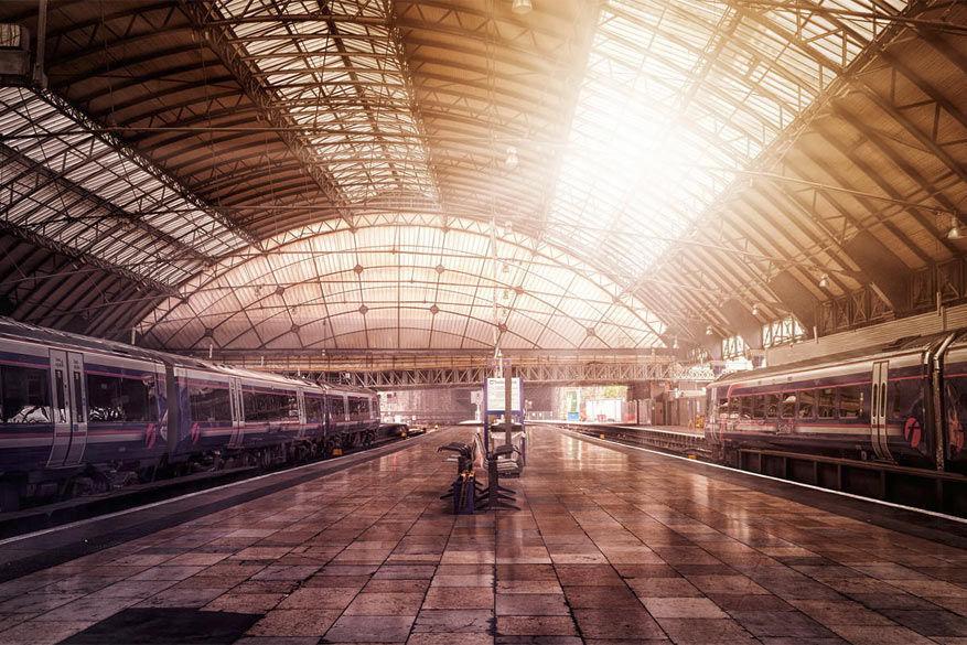 Het station van Glasgow