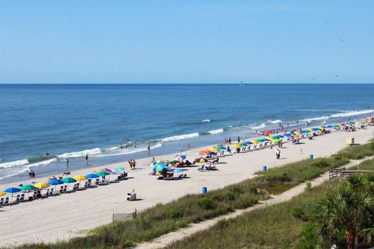 6. Myrtle Beach, South Carolina: Myrtle Beach werd verkozen tot beste strand van de Amerikaanse Oostkust. Dit is het ideale familiestrand, met veel randattracties voor kinderen. Het magnifieke uitzicht over de Atlantische Oceaan maakt het plaatje compleet.