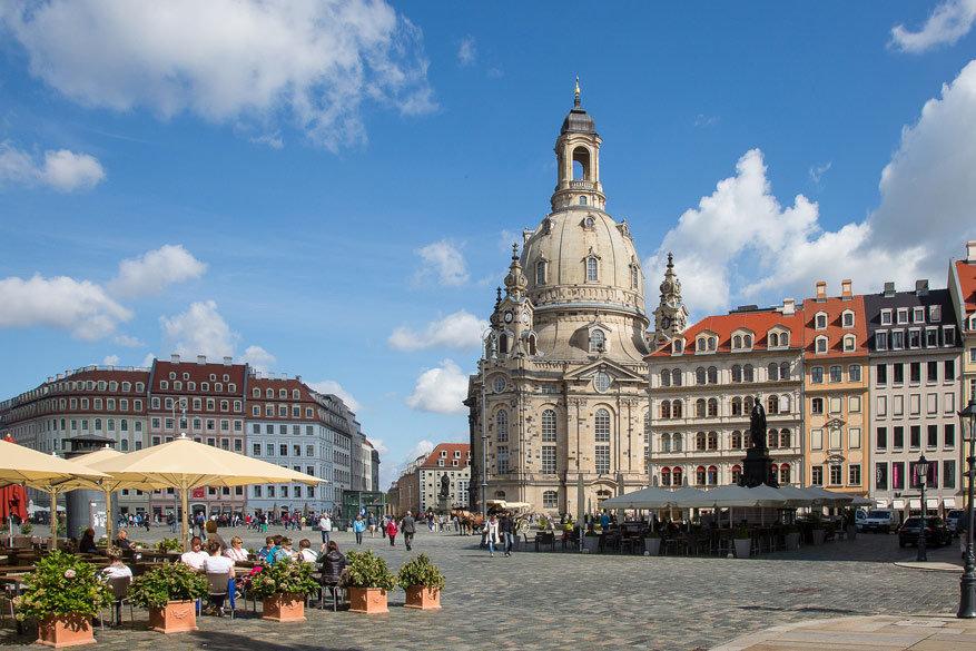 De Frauenkirche in de Altstadt. © Pixabay