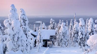Op bezoek bij de Kerstman in Rovaniemi
