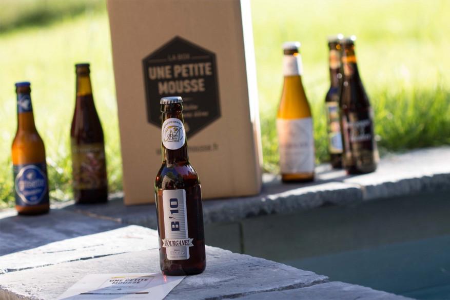 Het bier van brasserie Bourganel