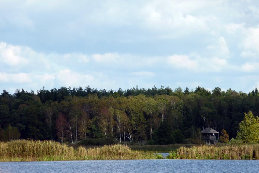 Pittoresk plaatje uit het Poleski Nationaal Park