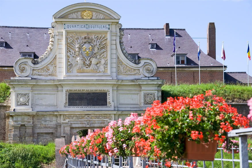 De Porte Royale aan de citadel. © Wikimedia Commons