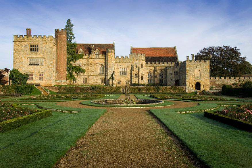 Het kasteel van Penshurst.