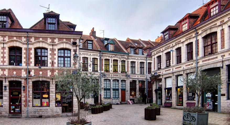 Het charmante Oude Rijsel verrast met een bijzondere architectuur. © Wikimedia Commons