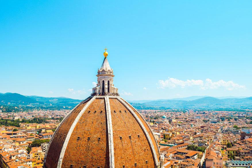 Beklim de Duomo en je krijgt een adembenemend overzicht op de stad! © Pixabay