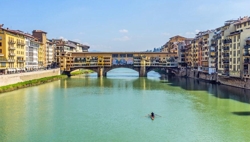 Bijzonder zicht: de huisjes op de Ponte Vecchio. © Pixabay