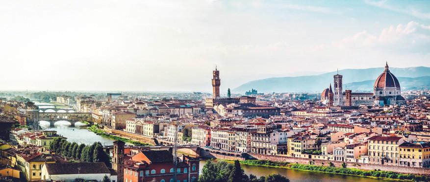 Florence op z'n mooist! © Pixabay