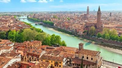 Romantisch vertier in Verona