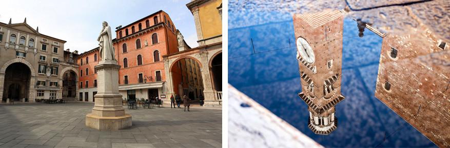 Verona: Piazza dei Signori met de Torre dei Lamberti. © Giovanni Moltoni | © Ranieri Di Marco
