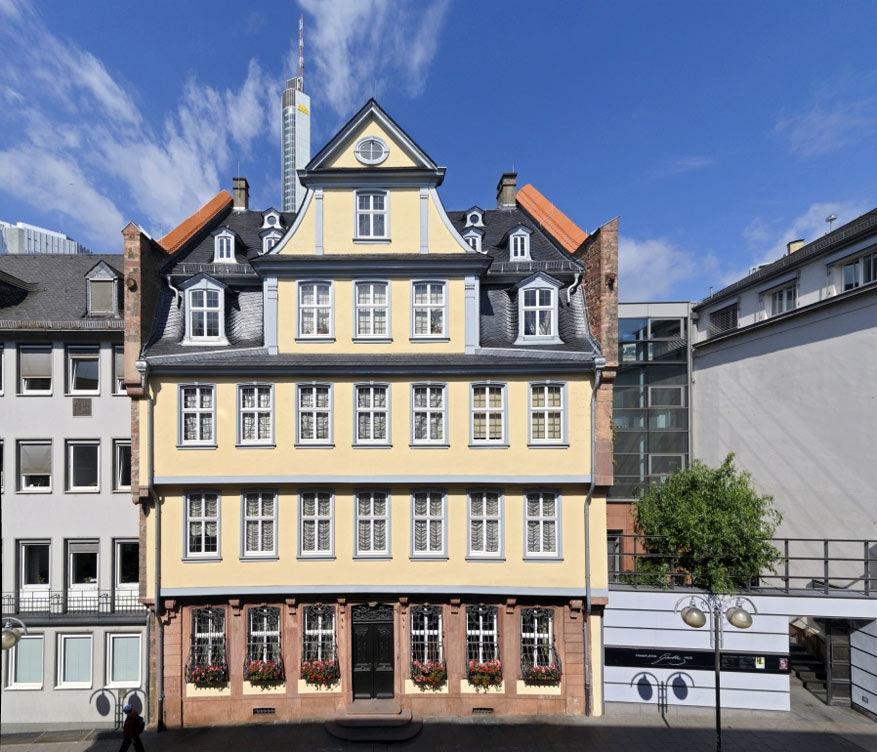 Het geboortehuis van Goethe © Holger Ullmann/Toerisme Frankfurt